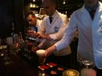 Mixologist masters at 69 Colebrooke Row.
