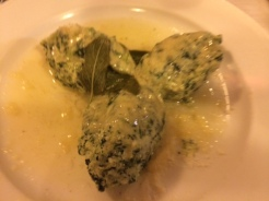 "Gnudi at Buca dell""orafao"