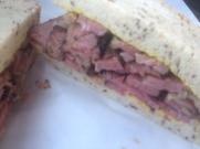Langer's pastrami sandwich