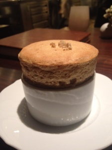 Buckwheat soufflé at Saison.